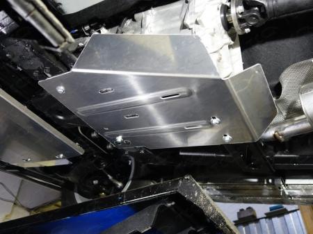 Volkswagen Amarok 2016-Защита раздаточной коробки (алюминий) 4 мм
